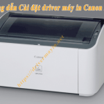 Cách cài đặt driver máy in Canon 2900