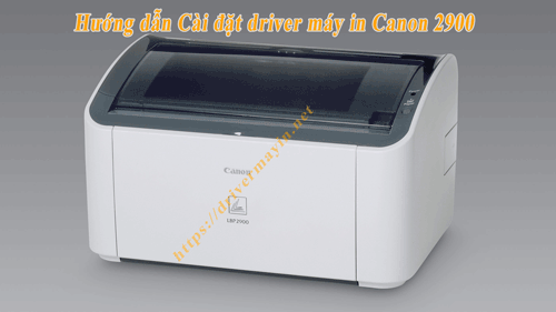 Cách cài máy in Canon 2900