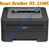 Cách reset máy in Brother 2240D