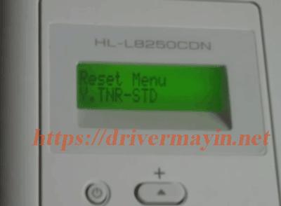 Cách Reset Mực Máy in Brother HL L8250CDN bước 3