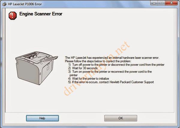 Cách Sửa lỗi 52.0 Scanner Error, Engine scanner Error