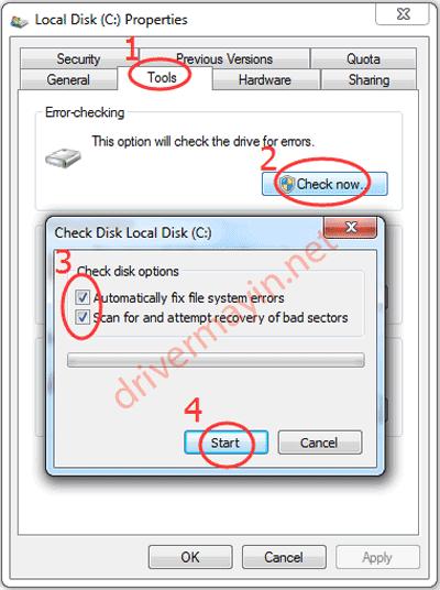 Windows detected a hard disk problem cách kiểm tra ổ cứng