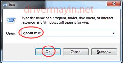 Windows detected a hard disk problem và Gpedit.msc