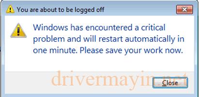 Cách sửa lỗi tự khởi động lại windows