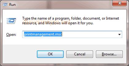 Sửa lỗi Windows không kết nối được máy in 1