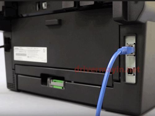 Cách cài máy in Brother MFC L2701DW Kết Nối qua LAN