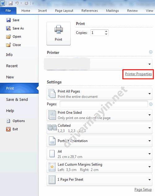 Cách in Hai mặt tự động ở Máy in Brother HL L2361DN cho windows
