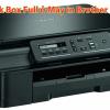 Cách sửa lỗi Ink box full ở máy in Brother DCP T300