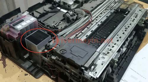 Cách Sửa lỗi Ink Box Full ở Máy in Brother DCP T300  DCP T500