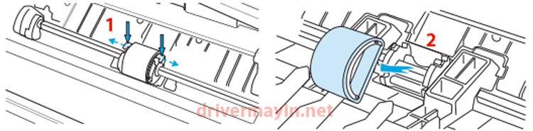 Cách sửa lỗi máy in không kéo được giấy ở Canon, Hp