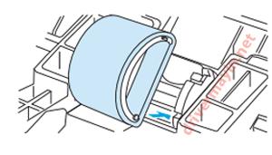 lỗi máy in không kéo được giấy ở Canon 2900, Hp 1020