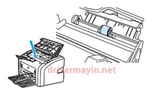 sửa lỗi máy in không kéo được giấy ở Canon 2900, Hp 1020