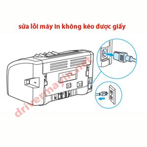 Sửa lỗi máy in không kéo được giấy.