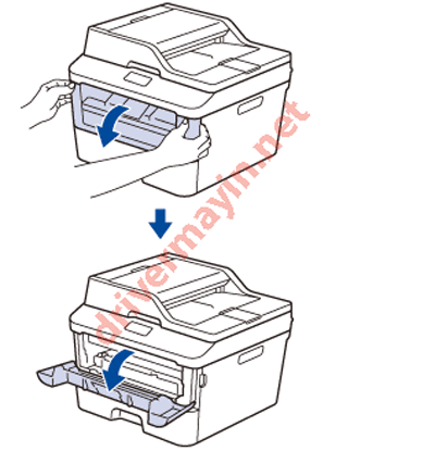 Sửa lỗi Replace Drum, Drum End Soon ở máy in Brother MFC L2701D