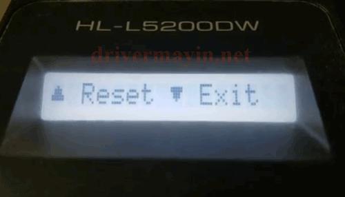Hướng dẫn Reset Mực máy in Brother HL L5100DN 3