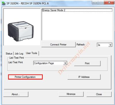 Cách sử dụng Smart Organizing Monitor của máy in Ricoh 26
