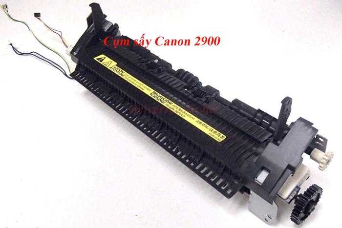 Máy in  Canon 2900 báo lỗi fixing Unit Error E000.0000