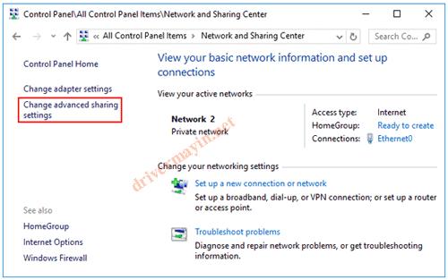 Cách sửa lỗi không kích hoạt được Network Discovery trên win 7,