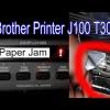Sửa lỗi Paper jam Brother T300