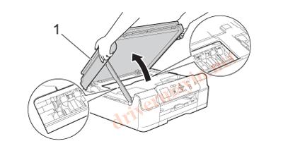Sửa lỗi Paper Jam Brother T300 và cách lấy giấy kẹt. 4