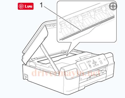 Sửa lỗi Paper Jam Brother T300 và cách lấy giấy kẹt. 24