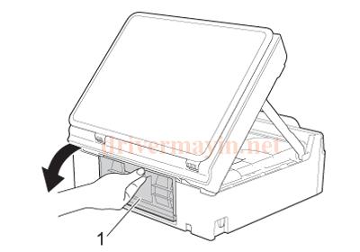 Sửa lỗi Paper Jam Brother T300 và cách lấy giấy kẹt. 12