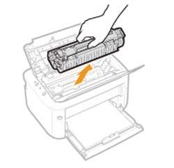 Cách thay mực máy in canon 6030 Bước 2