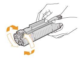 Cách thay mực máy in canon 6030 bước 4