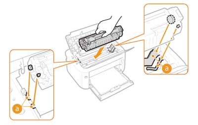 Cách thay mực máy in canon 6030 bước 6