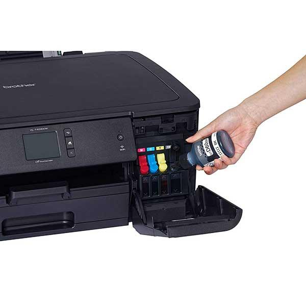 Cách bơm mực máy in Brother HL T4000DW
